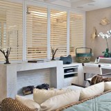 Wooden Shutters In Show Room