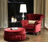 high quality sofa chair with stool