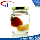 Customized Hot Sell Special Clear Glass Jar (CHJ8039)