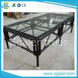 Transparent Stage Glass Stage Acrylic Stage with Ce TUV SGS Certification