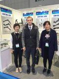 With customer on the 2016 Shanghai fair