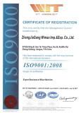 Mixer Machine ISO9001 Certificate