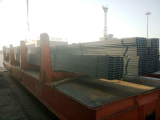 Steel channel ready for delivery