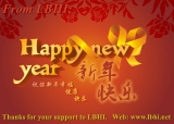 The best wish of happy new year from LBHI