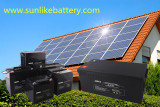 Solar Deep Cycle AGM Batteries 12V series