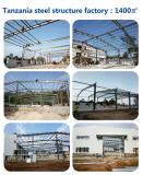 Tanzania Prefabricated Steel Structure Factory