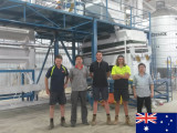 Engineer installed quinoa processing plant in Australia