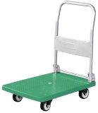150 kg green color trolley