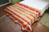 wool throw and blanket