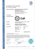 TUV Certificate of Generators