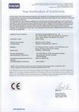 Auspoll CE Certificate