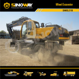 Sinoway Wheel Excavator SWEL210
