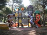 outdoor playground real case outdoor playground equipment photo