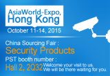 October 11-14, 2015 AsiaWorld-Expo, Hongkong, China Sourcing Fair