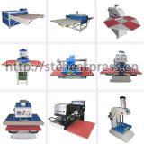 Pneumatic and hydraulic heat press machine