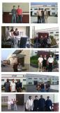 Some pictures of customers that visited our factory