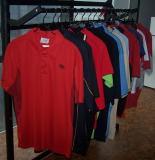 Company and School Cotton/Poly Uniform Polo Shirts with Embroidery Logo