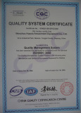 ISO9001-2000 Quality System Certificate