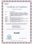 Rohs certificate for DMX512 controller