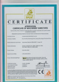 CE Certificate of Concrete Mixer and Batching Plant