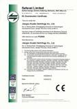 CE Certificate for Basket Centrifuges