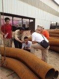 2013-4-5 Our Customer Mr IRWAN Buy our products bend pipes