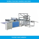 Bubble Film bag making machine with two folder