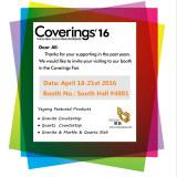 Coverings′′2016