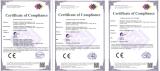 Certificates(CE-EMC, CE-LVD, EN62471)