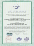 Certification of Conformity of Environmental Managerment System Certification of Confirmity