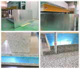 Aluminum foam panel workshop