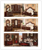 Stock Bedroom Furniture Bed for Sales Promotion