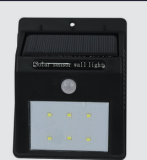 LED Solar Sensor Power Motion Activated Outdoor Wall Light