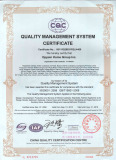 ISO 9001-2008 Quality Management System Certificate