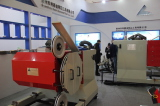 Quarry wire saw machine showing at Exhibition