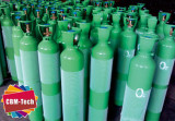 10 Liter Steel Oxygen Cylinders W/ Steel Valve Guards