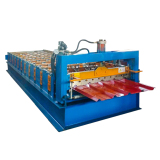 Hot sale 840 IBR roof sheet metal roll forming machinery