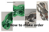 Ways to make order for water transfer printing films and spray chrome products