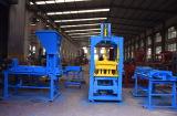 Automatic color paver machine