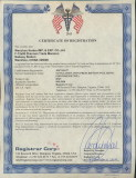 FDA Registered certificate 2
