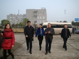 Mr.Haibin Zhou, the mayor of Hengyang city visiting our company