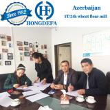 Azerbaijan 5T/24H wheat mill