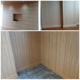 CREATEKING 2800*300*9mm PVC Wall Panel installed on Lunch room