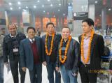 Machine Installation Team to India Customer