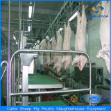 Sheep slaughter line machinery