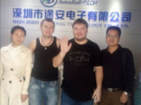 Russian Clients Visit Us