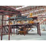 2015 Eaststar quartz slab press line in Turkey
