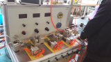Test facility for testing water pump pressure controller