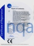 CE Certificate-Operating lamp