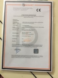 Drilling machine CE certificate